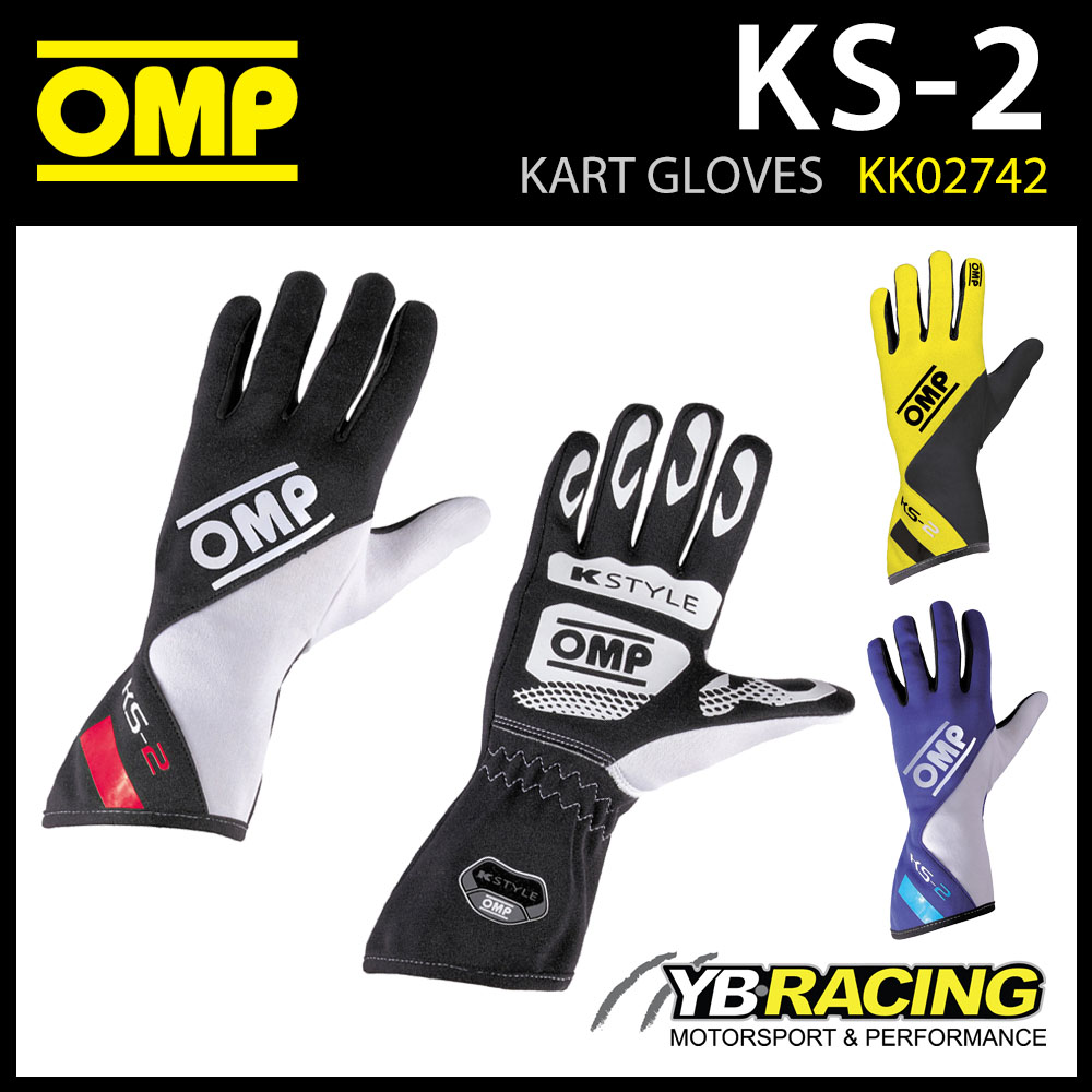KK02742 OMP KS-2 KART GLOVES