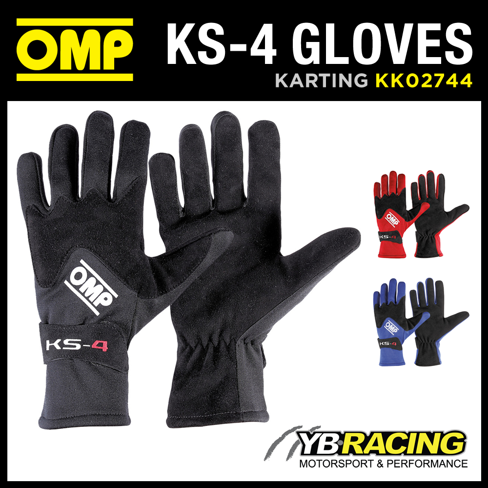 KK02744 OMP KS-4 KART GLOVES