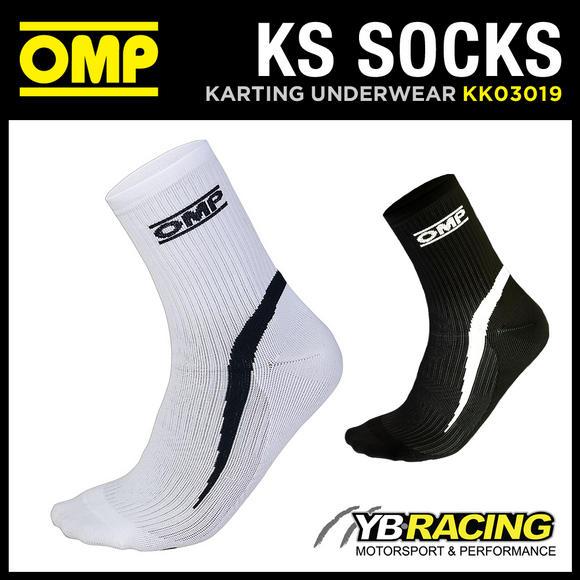 KK03019 OMP KS KARTING KART RACE SOCKS IN A NEW TECHNICAL DESIGN - 3 SIZES