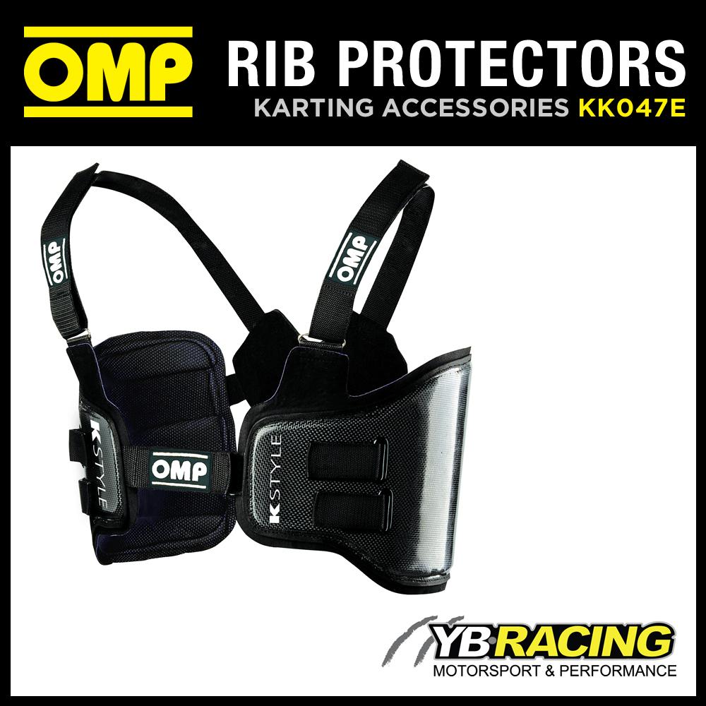 KK047E OMP K-STYLE RIB PROTECTION VEST