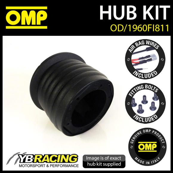 OD/1960FI811 OMP RACING STEERING WHEEL HUB BOSS KIT (ALSO FITS SPARCO & MOMO)