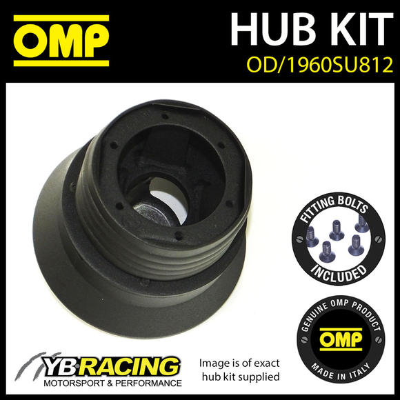 OD/1960SU812 OMP RACING STEERING WHEEL HUB BOSS KIT (ALSO FITS SPARCO & MOMO)