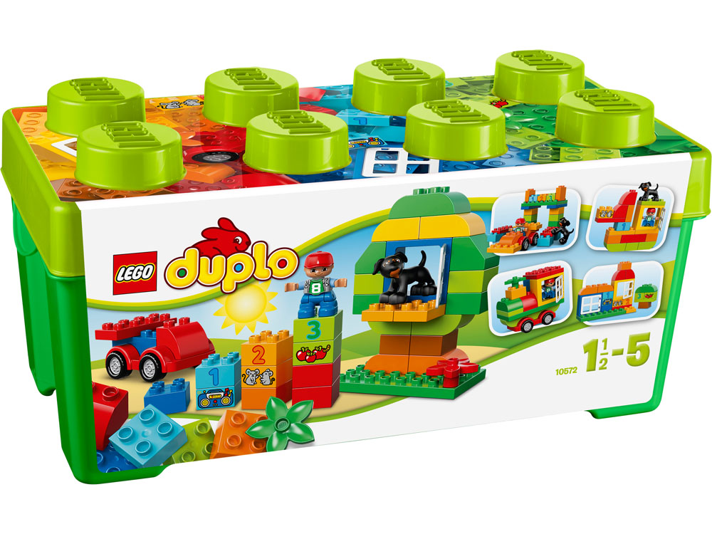 10572 LEGO Duplo All-In-One-Box-Of-Fun DUPLO DUPLO CREATIVE PLAY