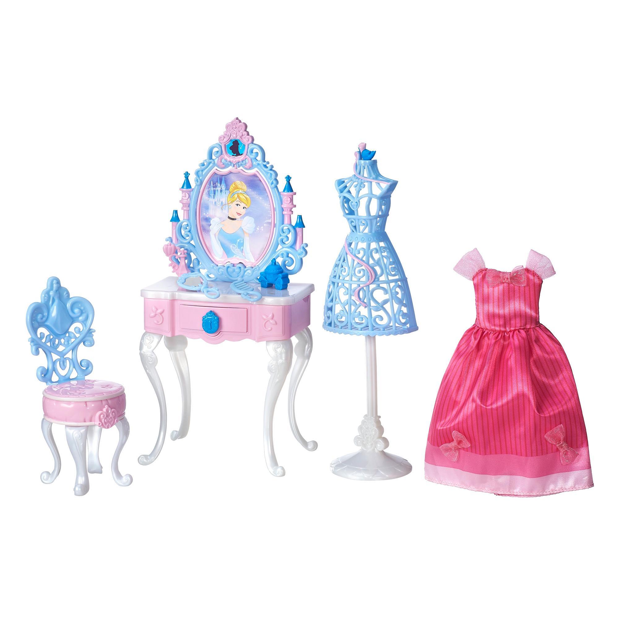 Sentinel Cinderella Enchanted Bedroom Vanity Scene Play Set Disney Princess  Girls Age 3+