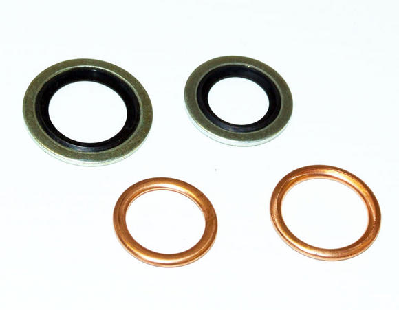 Peugeot 106 Oil Sump Gasket Set XSi RALLYE GTi - New Genuine Peugeot Part Thumbnail 2