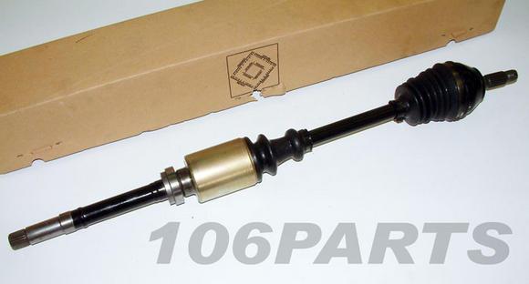 Peugeot 106 R/H Front Drive Shaft for 106 1.4 XSi / 1.3 RALLYE - Genuine Peugeot Thumbnail 2