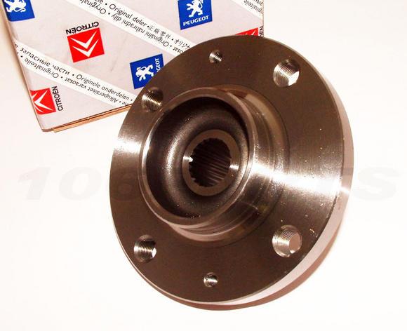Peugeot 106 Front Wheel Hub 72mm (later type 1999 onwards) 1.6 GTi - Genuine Thumbnail 2