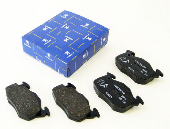 Peugeot 106 Front Brake Pads (Bendix) for Solid Brake Discs 247mm Non ABS - New Thumbnail 2