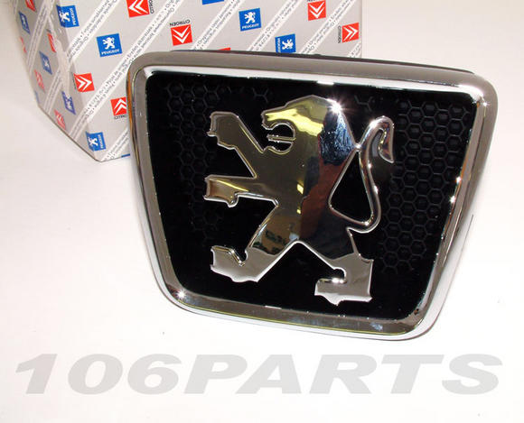 Peugeot 106 S2 Bonnet Badge All 106 Models 96-03 inc XS RALLYE GTi QUIKSILVER Thumbnail 2