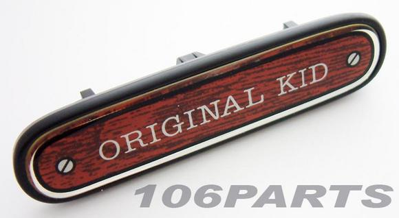 Peugeot 106 ORIGINAL KID Dashboard Badge - New Genuine Peugeot Part Thumbnail 2