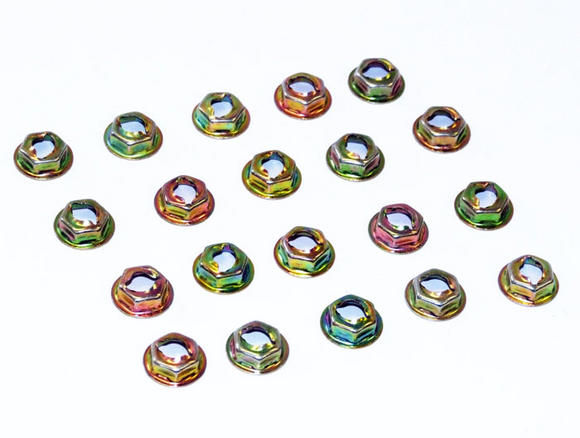 Peugeot 106 Wheel Arch Fixing Nuts (20) 1.3 RALLYE 93-96 - New Genuine Peugeot Thumbnail 3