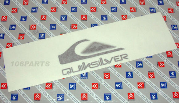 DISCONTINUED Peugeot 106 Quiksilver Body Badge - New Genuine Peugeot Part Thumbnail 2