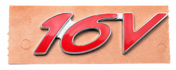 Peugeot 106 Peugeot 106 GTi 16v Body Badge - also S16/VTS - New Genuine Peugeot Thumbnail 2