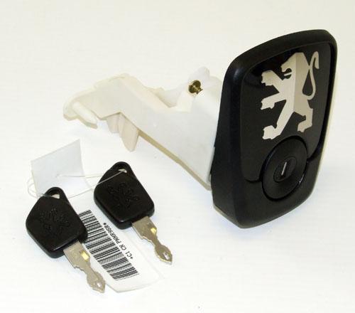 Peugeot 106 S2 96-03 Boot Lock & Surround S16 RALLYE GTi QUIKSILVER - Genuine Thumbnail 3