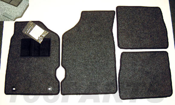 Peugeot 106 Genuine Carpet Mat Set (RHD only) XS XSi RALLYE GTi QUIKSILVER - New Thumbnail 2