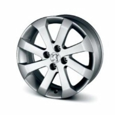 "PEUGEOT 5008 ABELLIA 17"" ALLOY WHEEL [Fits all 5008 models] 1.6 2.0 HDI NEW! Thumbnail 1"