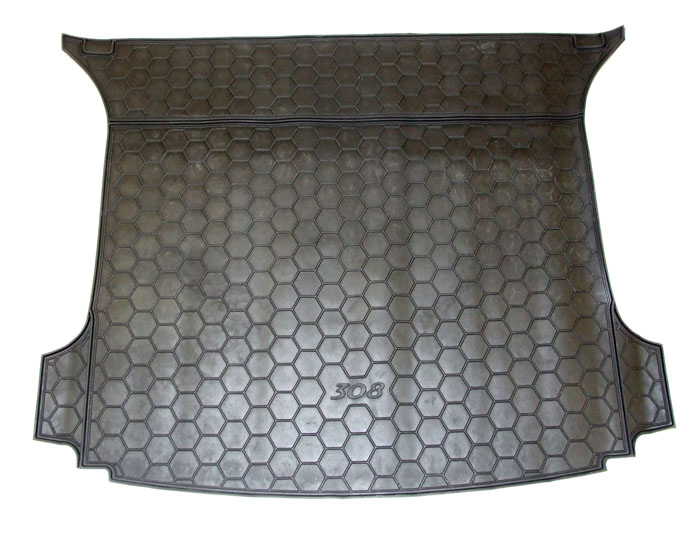 PEUGEOT 308 BOOT AREA RUBBER MAT [SW] SPORTS WAGON GENUINE PEUGEOT ACCESSORY!