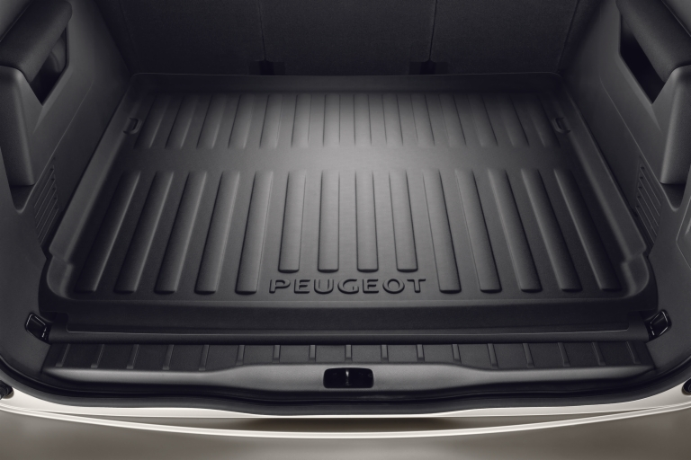 peugeot 5008 boot liner fits all 5008 models 1 6 2 0 hdi genuine peugeot part protection. Black Bedroom Furniture Sets. Home Design Ideas