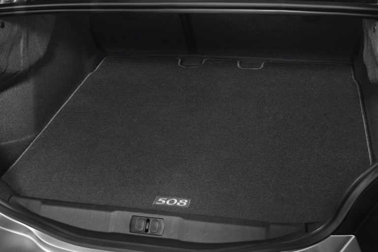 PEUGEOT 508 BOOT MAT [Saloon models only] 1.6 2.0 2.2 V6 HDI GENUINE PEUGEOT