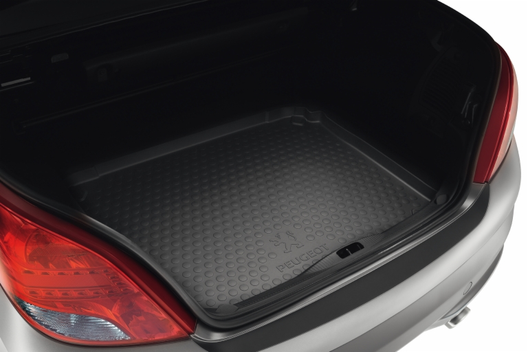 PEUGEOT 207 BOOT PROTECTION TRAY [CC] COUPE-CABRIOLET GENUINE PEUGEOT ACCESSORY!