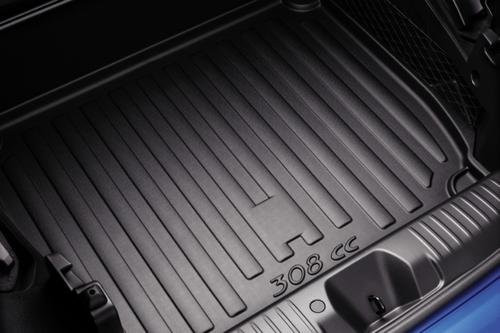 PEUGEOT 308 BOOT PROTECTION TRAY [CC] COUPE-CABRIOLET GENUINE PEUGEOT ACCESSORY! Thumbnail 1