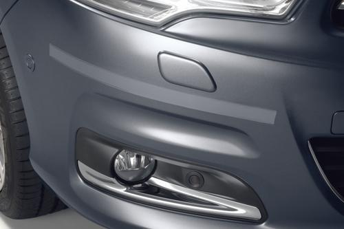 PEUGEOT 308 BUMPER RUBBING STRIPS CLEAR [Fits all 308 models] 1.4 1.6 TURBO HDI Thumbnail 1