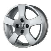 "PEUGEOT 207 CANBERRA 16"" ALLOY WHEEL [Fits all 207 models] GT GTI RC THP TURBO Thumbnail 1"