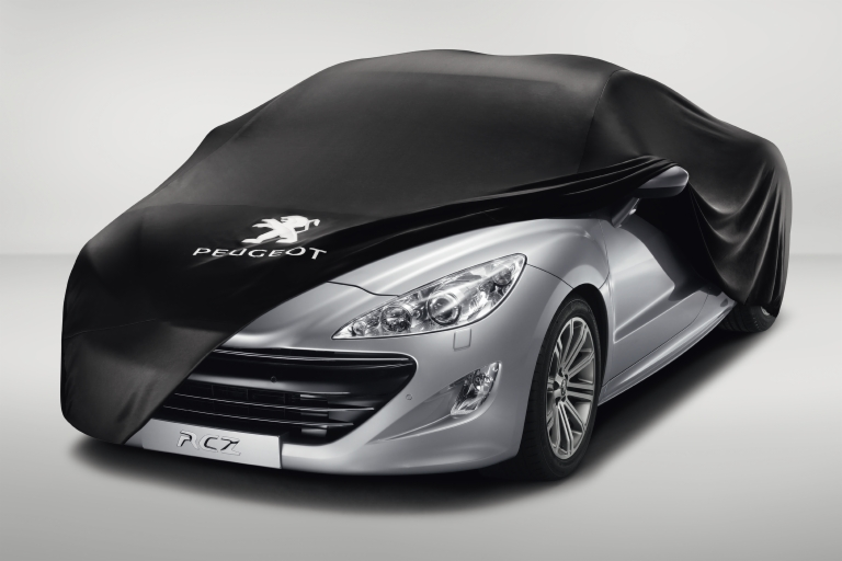 PEUGEOT RCZ CAR COVER [Fits all RCZ models] 1.6 TURBO THP 2.0 HDI GENUINE PARTS
