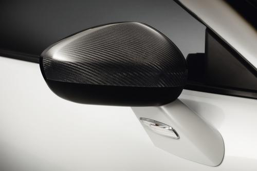 PEUGEOT RCZ CARBON FIBRE MIRROR COVERS [Fits all RCZ models]  GENUINE PEUGEOT Thumbnail 1