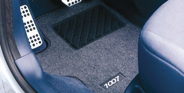 PEUGEOT 1007 CARPET MATS [Fits all 1007 models] 1.4 1.6 & HDI GENUINE PEUGEOT Thumbnail 1