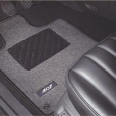 PEUGEOT 407 CARPET MATS [Saloon & SW] 1.6 2.0 2.2 V6 HDI GENUINE PEUGEOT PART! Thumbnail 1