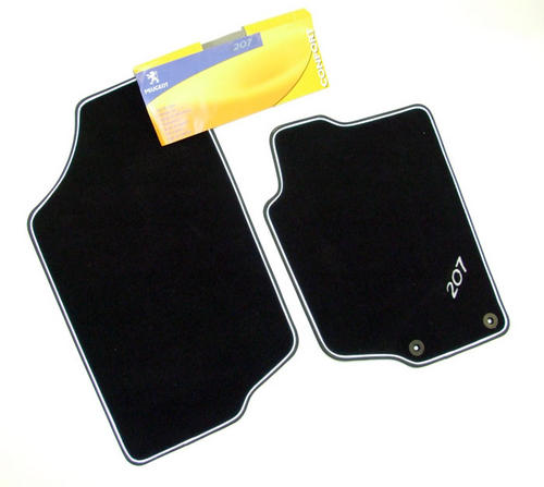 PEUGEOT 207 CARPET MATS [CC] COUPE-CABRIOLET GENUINE PEUGEOT ACCESSORY ITEM Thumbnail 1