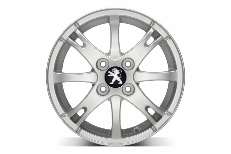 "PEUGEOT 107 CITY 14"" ALLOY WHEEL [Fits all 107 models] 1.0 1.4 HDi GENUINE PARTS"