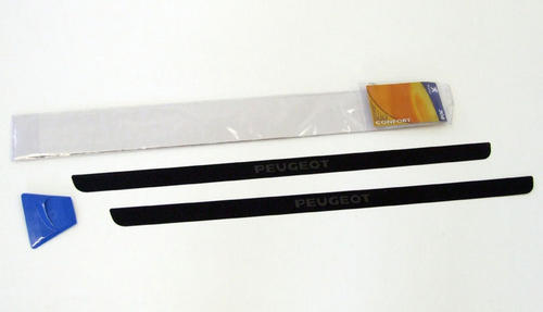 PEUGEOT 308 DOOR SILL PROTECTORS CARBON EFFECT [3 door] 1.4 1.6 TURBO HDI