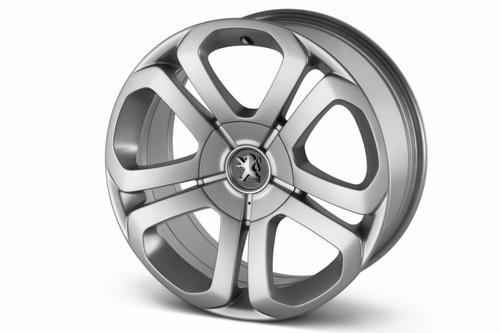"PEUGEOT 3008 GALIUM 17"" ALLOY WHEEL [Fits all 3008 models] 1.6 THP 2.0 HDI NEW! Thumbnail 1"