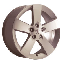 "PEUGEOT 407 HORTAZ 16"" ALLOY WHEEL [Fits all 407 models] 1.6 2.0 2.2 V6 HDI NEW! Thumbnail 1"