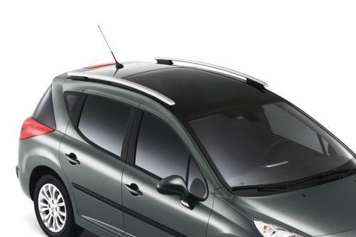 PEUGEOT 207 LONGITUDINAL BARS [For SW models with Cielo Glass roof]  NEW! Thumbnail 1