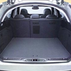 PEUGEOT 407 LUXURY BOOT CARPET MAT [SW] 1.6 2.0 2.2 V6 HDI GENUINE PEUGEOT PART! Thumbnail 1