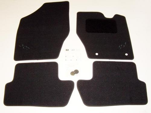 PEUGEOT 307 LUXURY CARPET MATS [Fits all 307 models] 1.6 2.0 16v HDI XSI NEW! Thumbnail 1