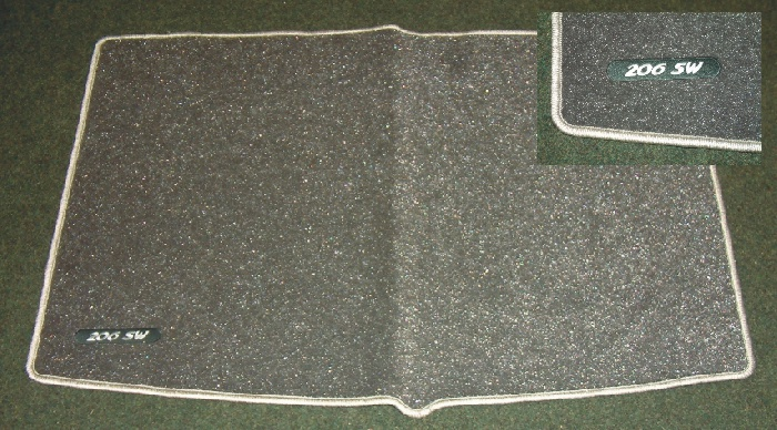 PEUGEOT 206 METALLIC CARPET MAT [SW] SPORTS WAGON GENUINE PEUGEOT ACCESSORY ITEM