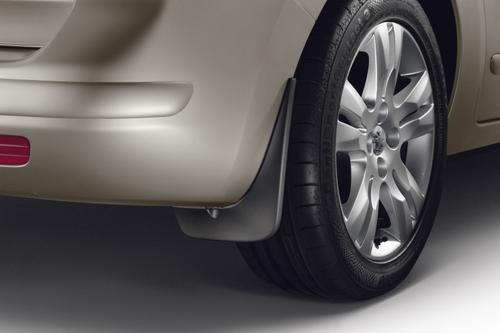 PEUGEOT 5008 REAR MUD FLAPS [Fits all 5008 models] 1.6 2.0 HDI GENUINE PARTS Thumbnail 1
