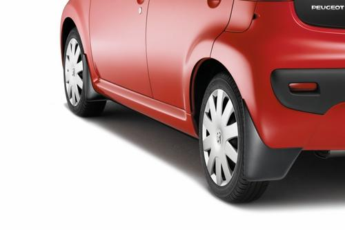 PEUGEOT 107 FRONT & REAR MUD FLAPS [Fits all 107 models] 1.0 1.4 HDi Thumbnail 1