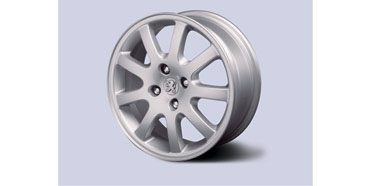 "PEUGEOT 206 NIMROD 15"" ALLOY WHEEL [Fits all 206 models] GTI HDI XSI NEW!"
