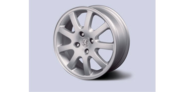 "PEUGEOT 307 NIMROD 15"" ALLOY WHEEL [Fits all 307 models] 1.6 2.0 16v HDI XSI"