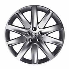 "PEUGEOT 407 NINETEEN 19"" ALLOY WHEEL [Coupe models] V6 HDI GENUINE PEUGEOT PART!"