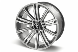"PEUGEOT RCZ ORIGINAL 18"" ALLOY WHEEL SILVER [Fits all RCZ models]  GENUINE PARTS"