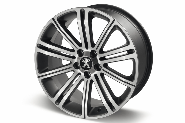 "PEUGEOT RCZ ORIGINAL 18"" ALLOY WHEEL DARK GREY [Fits all RCZ models]"