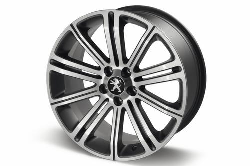 "PEUGEOT RCZ ORIGINAL 18"" ALLOY WHEEL DARK GREY [Fits all RCZ models] Thumbnail 1"