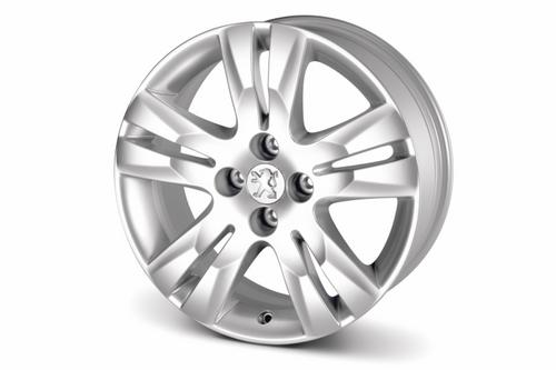 "PEUGEOT 5008 QUARK 17"" ALLOY WHEEL [Fits all 5008 models] 1.6 2.0 HDI NEW! Thumbnail 1"