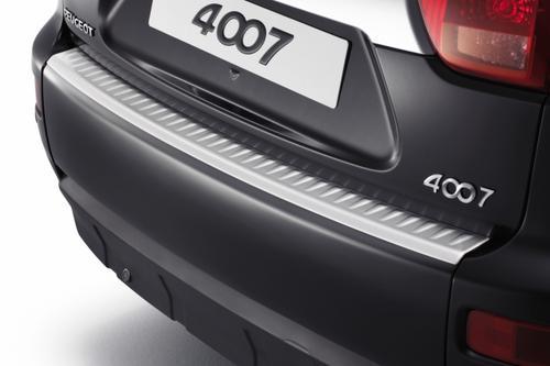 PEUGEOT 4007 REAR BUMPER TOP PROTECTION TRIM [Fits all 4007 models] 2.2 HDI NEW! Thumbnail 1